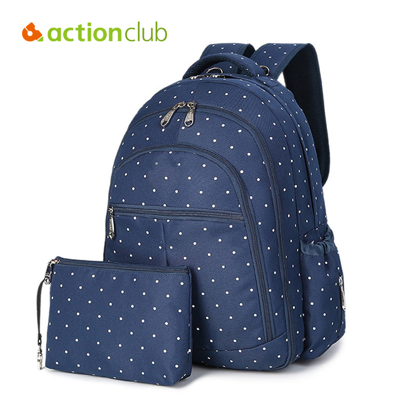 Actionclub Mummy Baby Care Maternity Backpack Nappy Diaper Bag Baby Stuff Carriage Kids Stroller Hanging Bags Large Capacity Bag