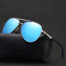 Aabbye Aluminum Mens Polarized Mirror Sun Glasses Classic Brand Designer Sunglasses Men Driving Eyewear Pilot Sunglasses