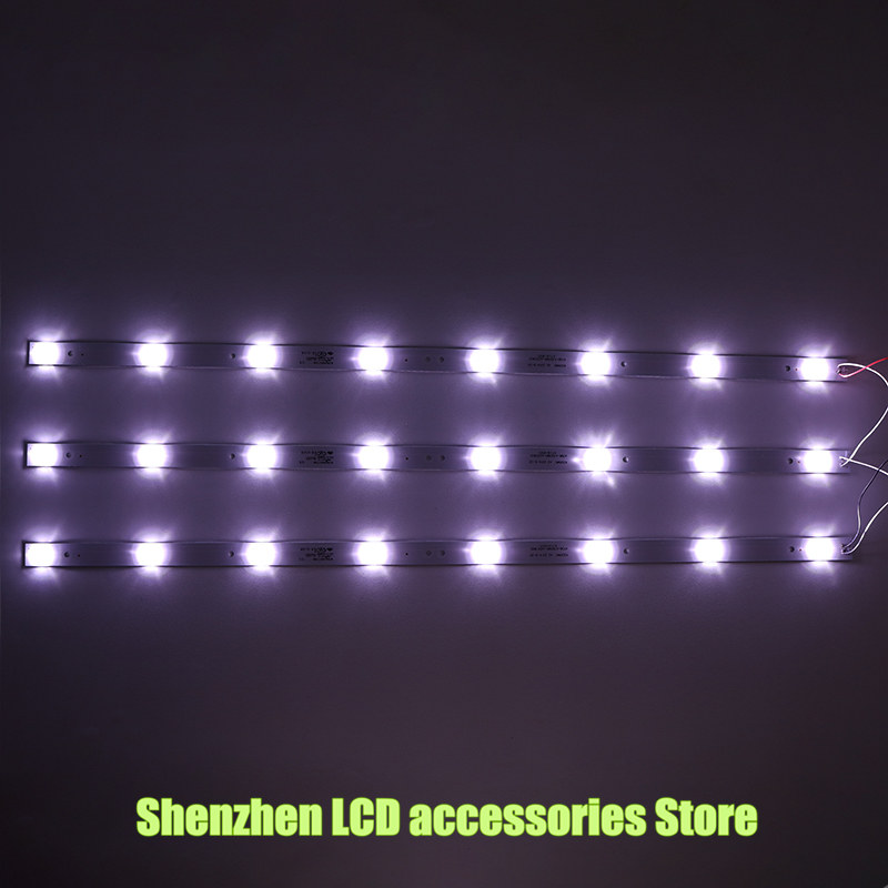 6Pieces lot for Changhong 32J1000 lamp 4708 K320WD A4213K01 with screen K320WD8 618MM 100 NEW