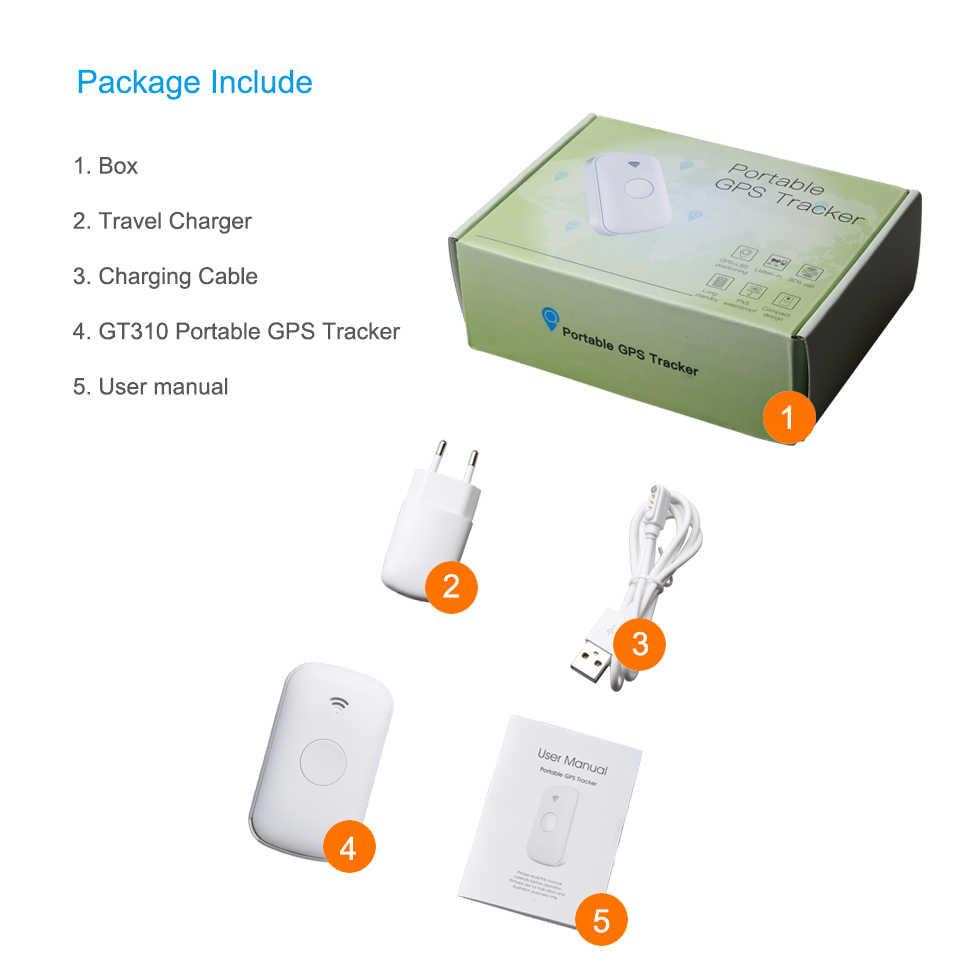 Concox GT310/Q2 Мини Портативный Персональный gps трекер Смарт gps GSM устройство слежения SOS Кнопка один ключ вызов SOS IP65 водонепроницаемый