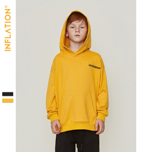 INFLATION KIDS Thin Hoodies Autumn Cotton Material Hoodies Kids Clothing Hoodies Embroidery Words Kids Fashion Hoodies 9656S hoodies valeria fratta hoodies
