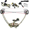 50lbs left hand and right hand triangle junxing M109 Hunting crossbow Compound Bow sets
