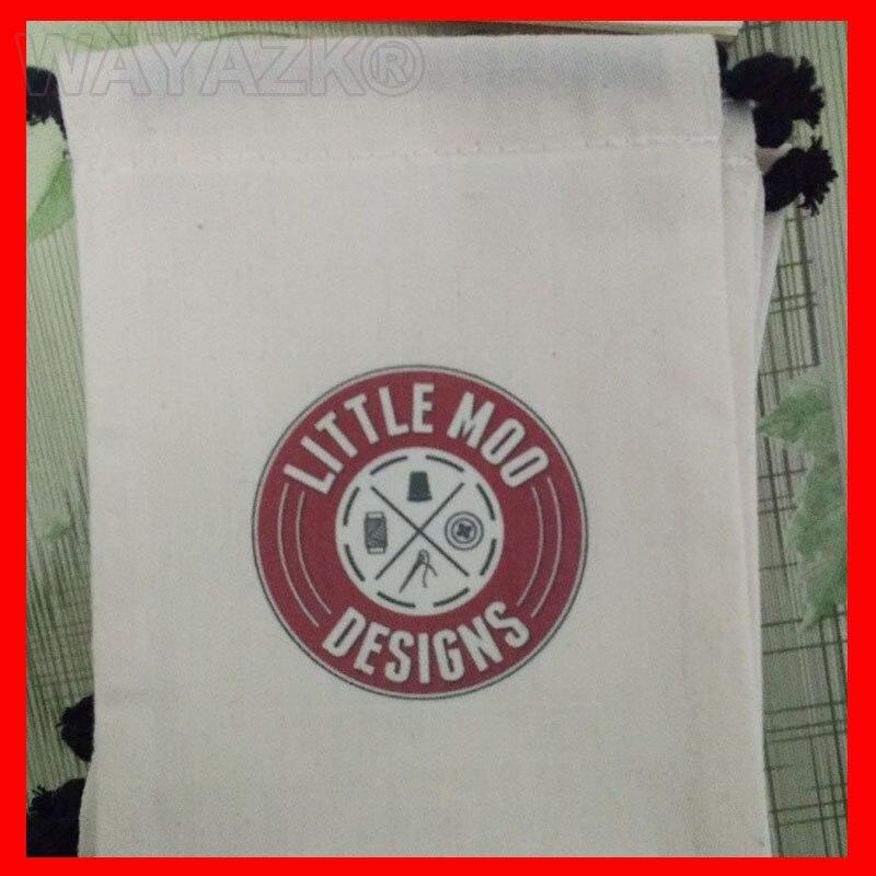 logo cotton bag