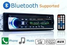 Новый 12 В Автомобильный радиоприемник bluetooth Стерео bluetooth FM Радио MP3 Аудио плеер USB SD MMC Порт Автомобильный радиоприемник bluetooth В Тире один DIN размер