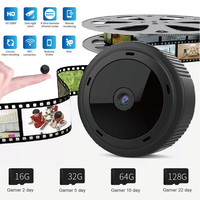 Mini Camera WIFI 2MP 1080P Home Security Wireless Small Cam Infrared Night Vision Mini Video Camera For Hidden TF Card Z527