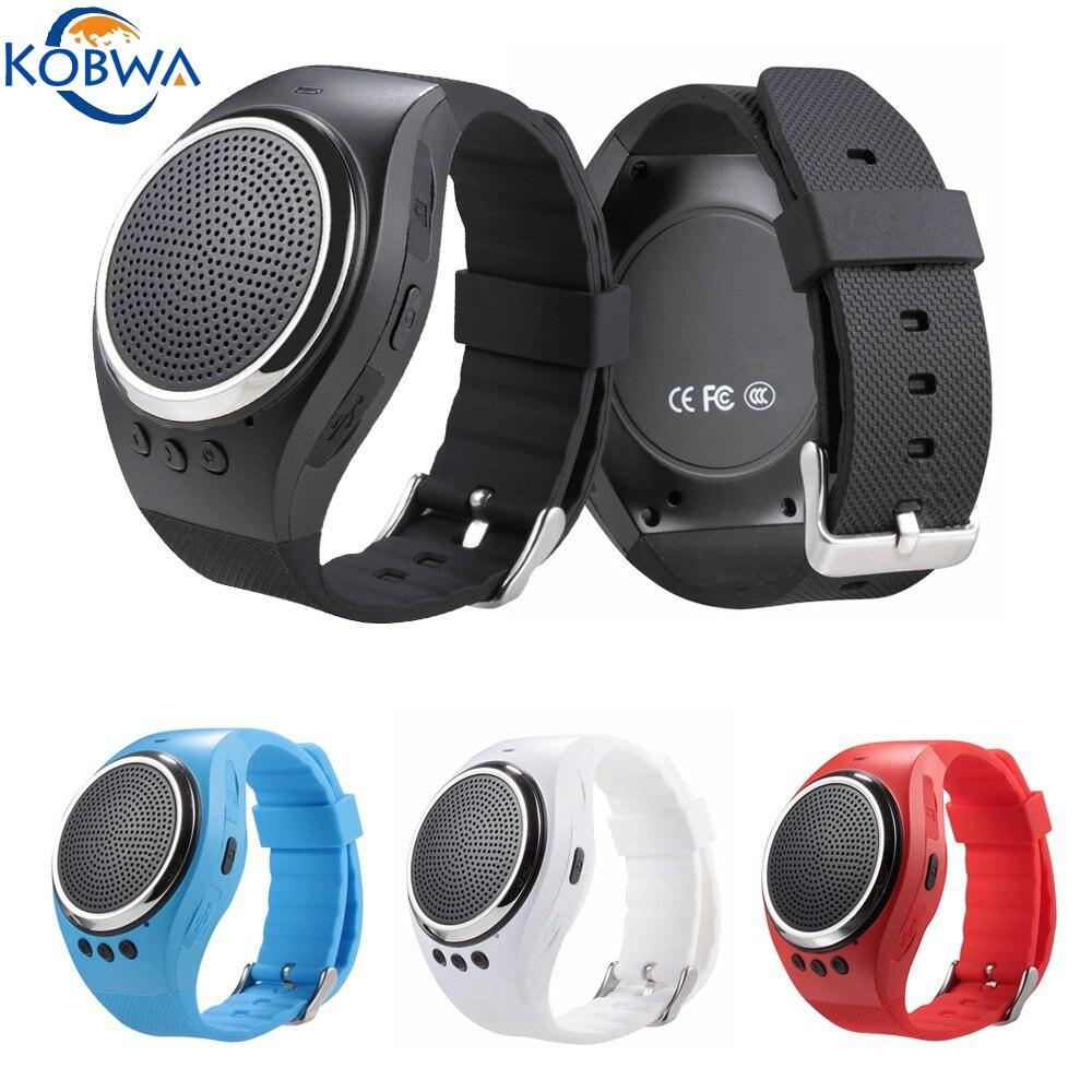 imágenes para Smart watch dual bluetooth pulsera deportivo gimnasio rastreador podómetro electrónico con música altavoz para ios/android