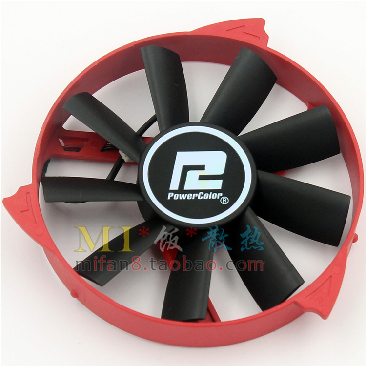 HD6770 VORTEX 1G PLA09215B12H 0.55A  ball bearing graphics card fan computador cooling fan replacement for msi twin frozr ii r7770 hd 7770 n460 n560 gtx graphics video card fans pld08010s12hh