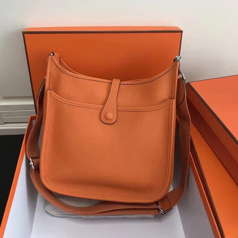 Leder Taschen Luxus Runway Umhängetaschen rosa Für Handtaschen Berühmte orange Schwarzes Designer Marke 100 Echtem Frauen XqwSS5g