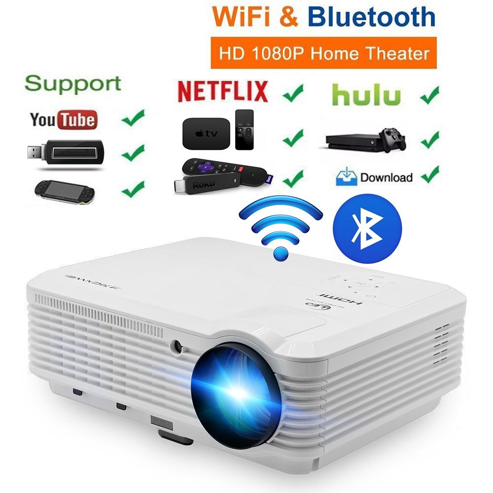 Caiwei Digital Led Projector Home Theater Beamer Lcd: Aliexpress.com : Buy CAIWEI LCD LED Android Wifi Bluetooth