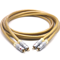 Hifi Cardas audio cables Cardas HEXLINK GOLDEN 5C audio cable Amplifier CD DVD player Speaker Nakamichi RCA interconnect cable