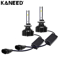 KANEED H27 881 LED Bulbs 2pcs 25W 3000LM 6000K IP65 Waterproof Car 880 LED Headlight with 6 CSP Lamps White Light, DC 9 36V