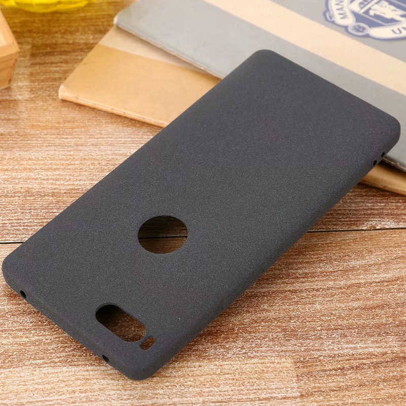 For Smartisan Nut 3 Pro PRO 2 2S R1 Slim Sandstone Silicone TPU Shell Back Cover Case For Meitu M6 M8 V8 T8 T9 Matte case