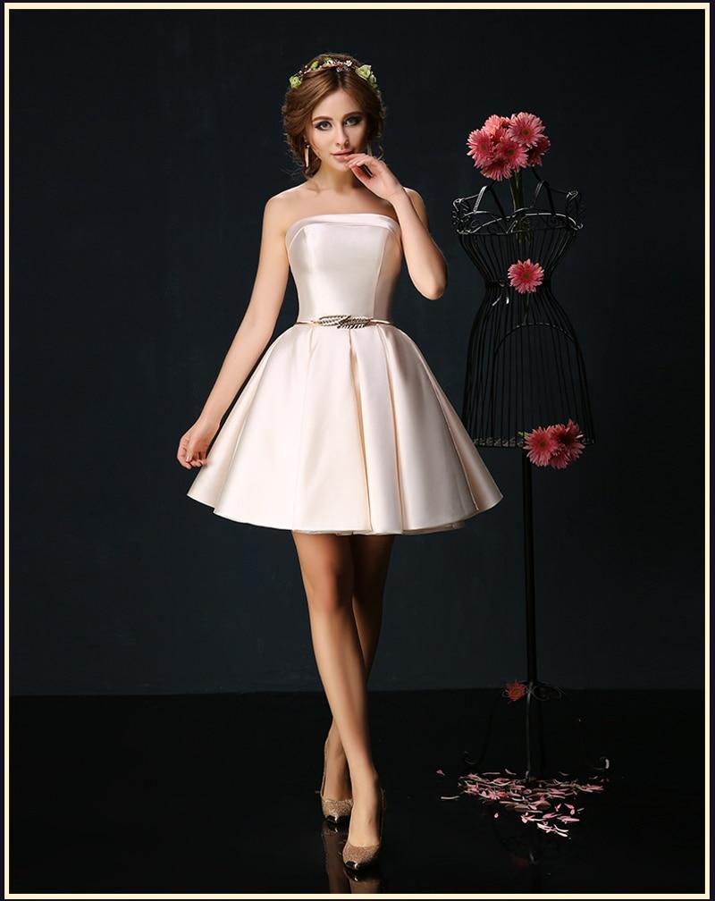 31ad79527f Elegant Sexy Sash Red Cocktail Dresses Short Prom Dress Satin Cheap 8th  Grade Graduation Dresses Homecoming Party Gowns 2019-in Cocktail Dresses  from ...
