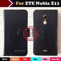 Hot!! em estoque zte nubia z11 max caso 6 cores de luxo exclusivo de couro ultra-fino para zte nubia z11 max tampa do telefone + rastreamento