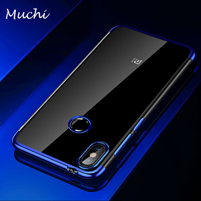brand new 4d68a cb43a US $3.99 |MUCHI For Xiaomi Mi A2 Case Luxury Laser Plating Soft Clear Back  Cover For Xiaomi MiA2 Mi 6X Mi6X Phone Cases-in Fitted Cases from ...