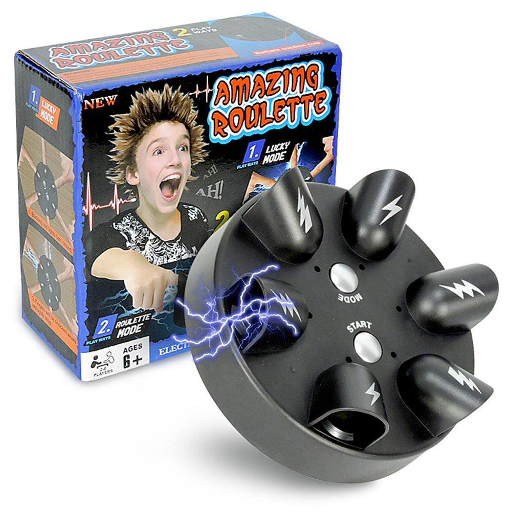 New Funny Children Creative Desktop Toy Mini Electric Shock Finger Lucky Electric Electric Shocker Tidy Party Gift Prank Games