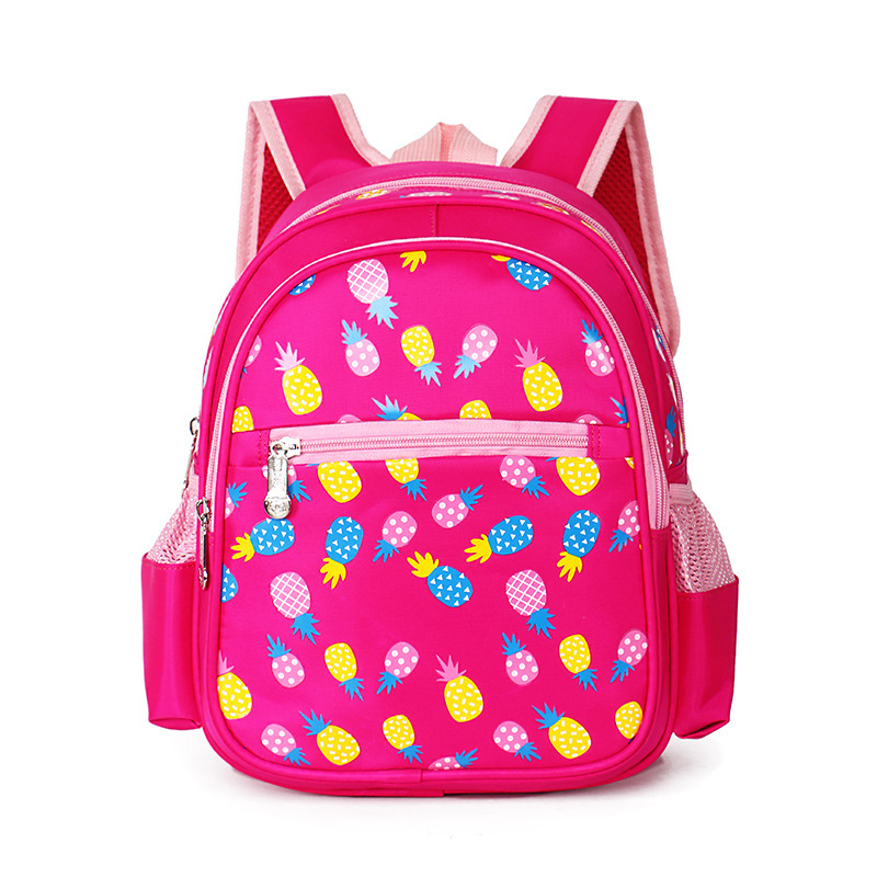 Grade 0-1girls boys students Schoolbag Cartoon Princess Children School Bags For Girls Baby School Backpacks Child Kids Satchel