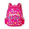 Grado 0-1girls chicos estudiantes de dibujos animados princesa Children School bolsas para las muchachas del bebé mochilas mochilas School niño niños de la taleguilla