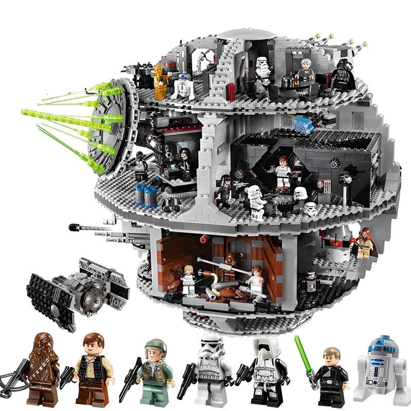 Death Star Set Kits 3804pcs Building Bricks Blocks Toys Gift Fit