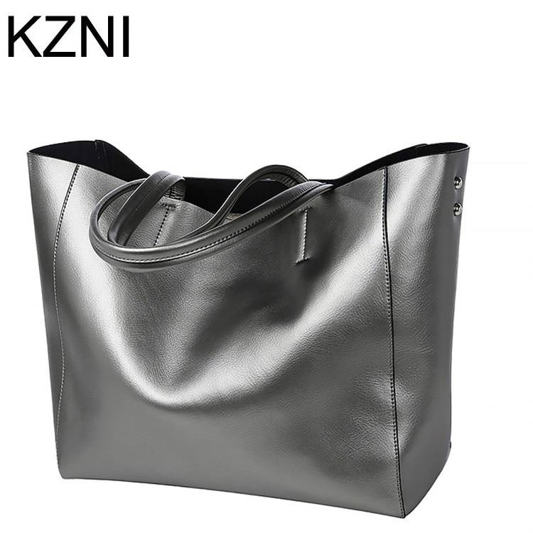 KZNI bag women handbag female genuine leather bags messenger bag famous brand crossbody bags for women bolsos mujer L111325
