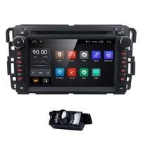 Hizpo 2Din Android 8.1 Car Radio Player For GMC Chevrolet Buick YUKON DENALL/XL/XL DENALL ACADIA 2007 2013 Navigation GPS RDS 4G