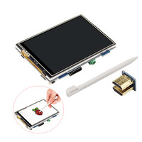 3 5 Inch HDMI Interface 480 320 Adjustable Touch Display Screen For Raspberry Pi 3