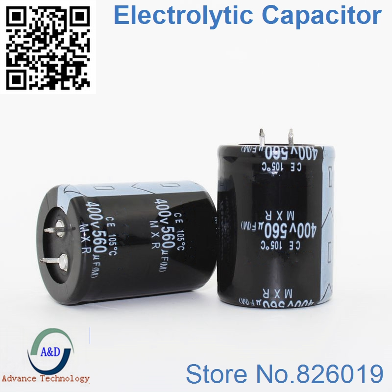 Electrolytic Capacitors 2.2uF 400V Radial lot of 20