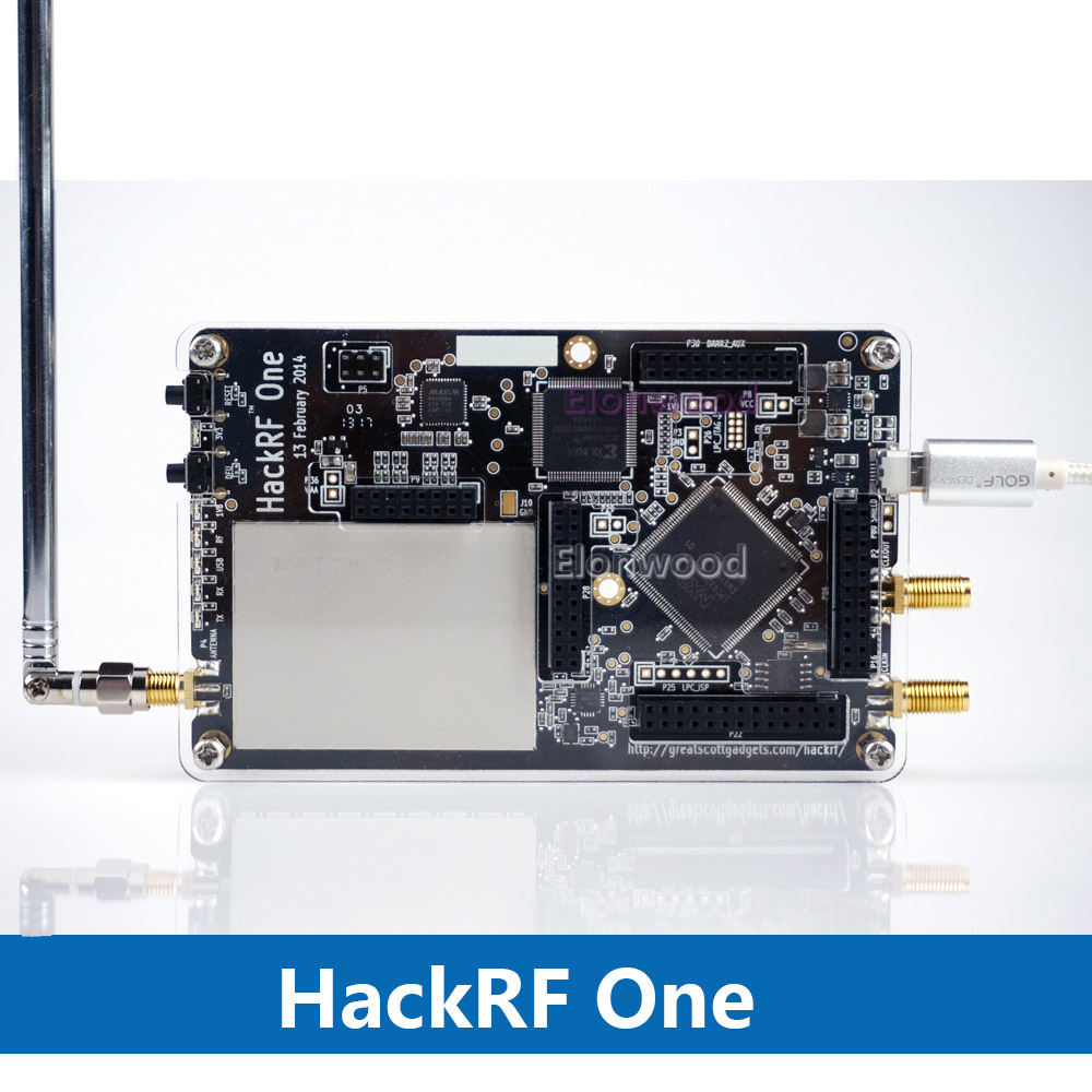 HackRF One 1MHz to 6GHz Software Defined Radio platform Development Board RTL SDR demo board kit dongle receiver Ham Radio 2018 hackrf one rtl 1mhz to 6 ghz 8bit quadrature rf system software defined radio sdr communication experimental platform