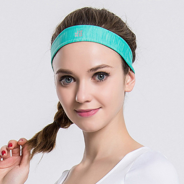 87b9b1b8e72 New Men Women Sweatband Quick Dry Hair Bands Sweat Absorbing Running Yoga  Gym Stretch Head Band Sports Safety Sweat Headbands