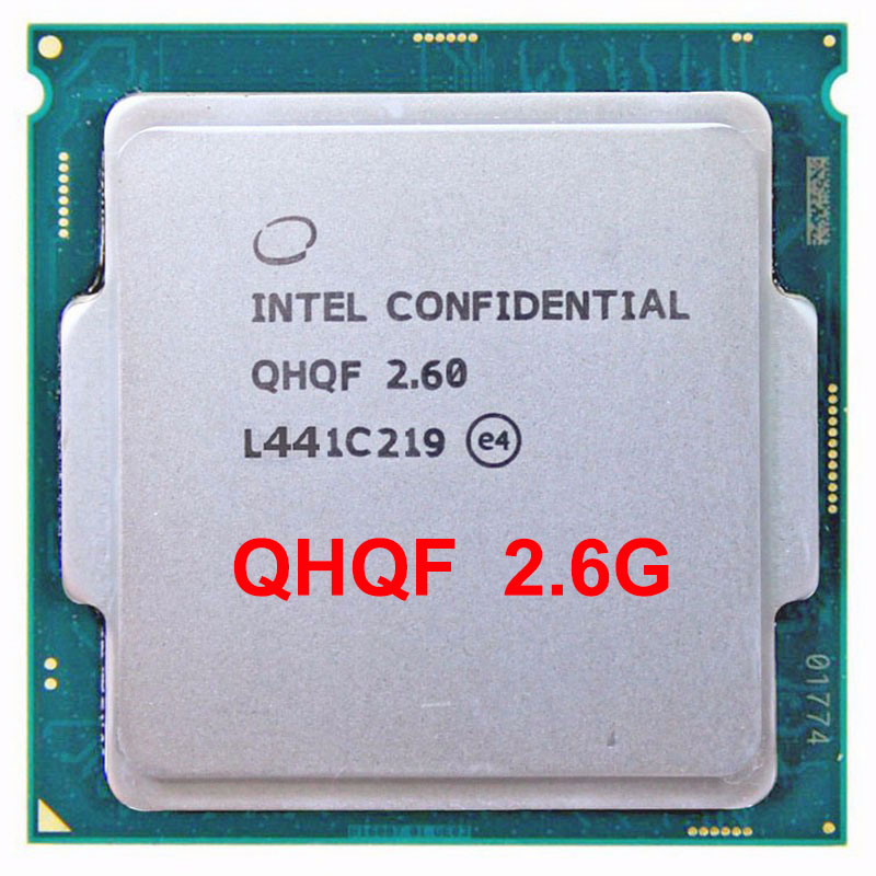 QHQF Engineering version of <font><b>INTEL</b></font> I7 <font><b>CPU</b></font> Q0 SKYLAKE AS QHQG 2.6G <font><b>1151</b></font> 8WAY 95W DDR3L/DDR4 graphics core HD530 image