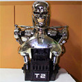 Orgrimmar OGRM 1: 1 Terminator T2 T800 Resin bust assembly Figure skeleton statue T2 half-length FB098