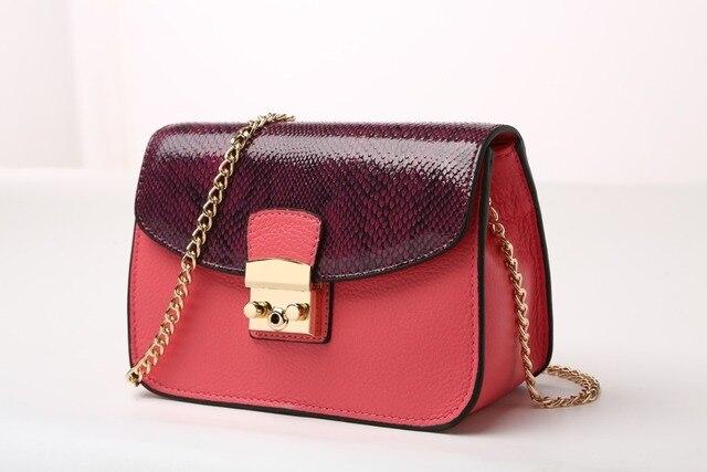 DongHong СЗТ леди сумка кожа Мини цепи crossbody женщины подлинные сумки кожа коровы сумка Малый щитка сумка
