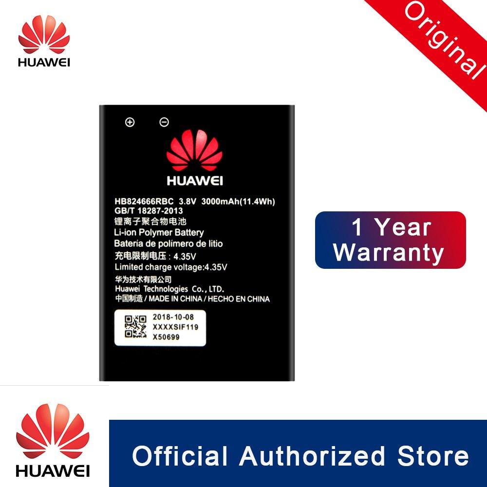 HuaWei 100% Original HB824666RBC batería para Huawei E5577 E5577Bs-937 reemplazo bateria capacidad Real teléfono 3000mAh Akku