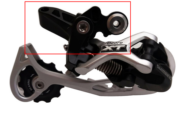 9f1f0b90447 SHIMANO XT M773 9 speed bike biyccle mtb rear derailleur shadow-in ...