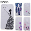 For Lenovo K6 Note Case 5.5 Inch 3D Flower Soft TPU Phone Case For Lenovo Vibe K6 Note Case Silicone Protective  Back Cover Skin