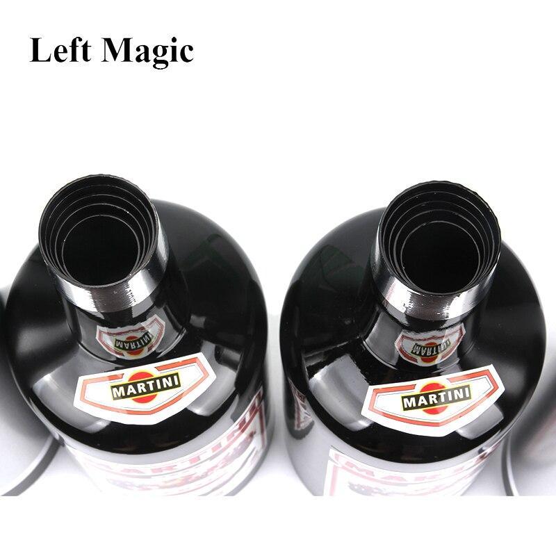 Multiplier les bouteilles 10 bouteilles noir (liquide versé) tour de magie étape accessoires magiques gros plan mentalisme Illusion jouet classique - 6