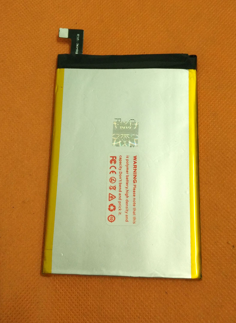 Utilisé Original 6300 mAh Batterie Batterie Batterij Bateria Pour LEAGOO Requin 1 MTK6753 Octa Core 6.0 FHD