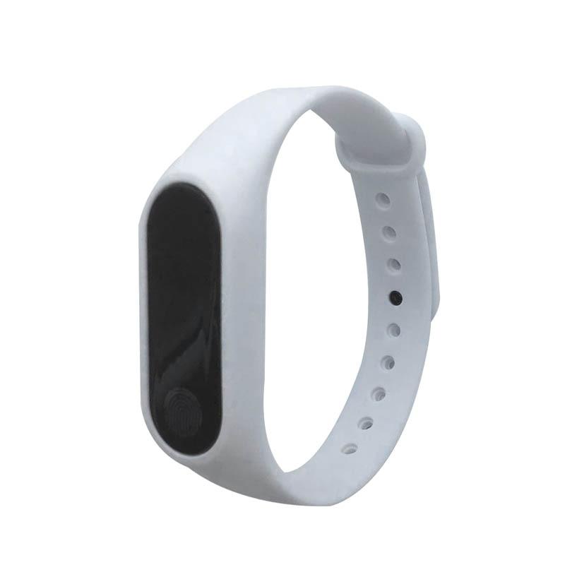 Newly Smart Bracelet M2 HeartRate Bracelet life Waterproof Sport Fitness Band Stepcount Message Smart Loop