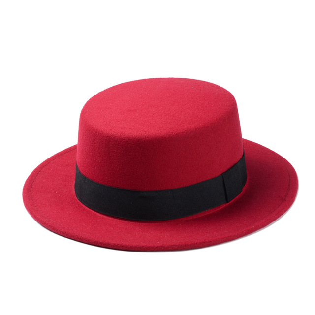 Red Womens fedora 5c64fe1e69502