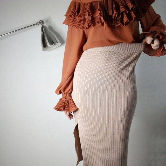Трикотажная юбка QUEECHALLE