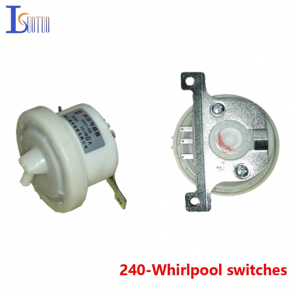 Whirlpool automatic washing machine water level switch DSC-6B SW-1/1J/1B/1C electronic water level sensor