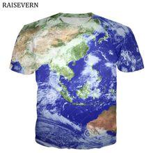 9964f680 World Map T Shirt Men 3D Print Retro Globe Image Men Tops Tees Funny  TShirts Male