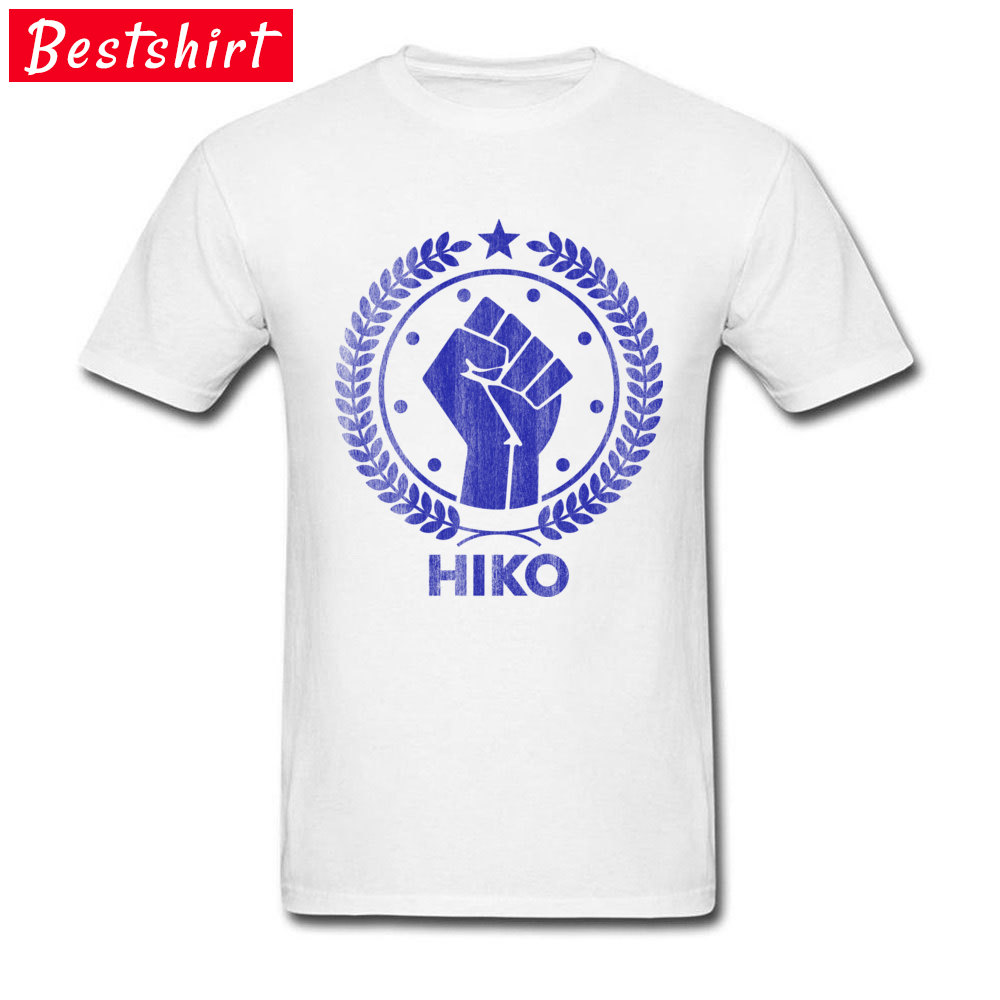 Design Clutch Hiko Men Tshirts Pure Cotton Breathable Fitness Autumn Tops & Tees White New T Shirts Drop Shipping
