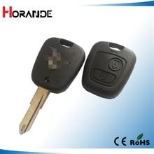 Horande для Citroen C5 2 Кнопки Дистанционного Ключа Дело Shell Брелок