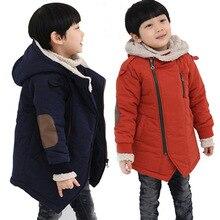 Детское пальто, осенне-зимняя куртка для мальчиков, детская одежда, верхняя одежда с капюшоном, одежда для маленьких мальчиков