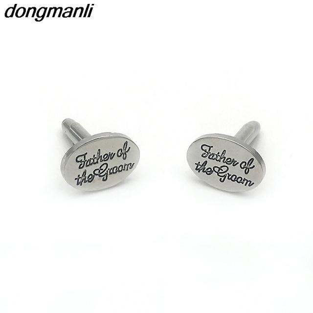 P1672 Dongmanli 2018 Fashion Men\'s shirts Wedding Cufflinks Groom ...