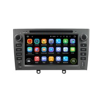 KLYDE 7 2 Din Android 8.1 Car Radio For PEUGEOT PG 408 2007 2010 Stereo DVD Audio Car Multimedia Player Canbus