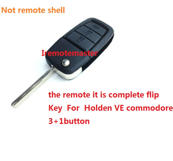 For Holden VE Commodore Complete Remote Flip Key top quality DHL free shipping