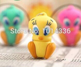 lovely duck usb flash drive 4GB 8GB 16GB 32GB 64GB USB Flash 2.0 Memory Drive Stick Pen/Thumb/Car usb flash drive S70