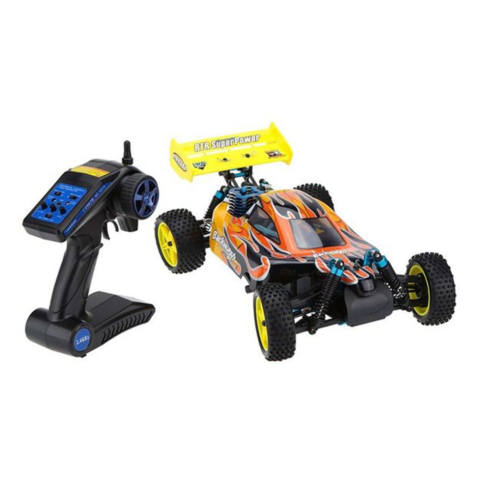 HSP Baja 94166 1/10 2.4G 4WD RC Car Backwash Buggy Off-road Truck With 18cxp Engine RTR Toy BY EMS DHL Express DeliveryHSP Baja 94166 1/10 2.4G 4WD RC Car Backwash Buggy Off-road Truck With 18cxp Engine RTR Toy BY EMS DHL Express Delivery
